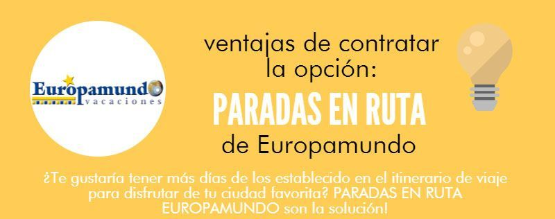 Paradas en ruta Europamundo