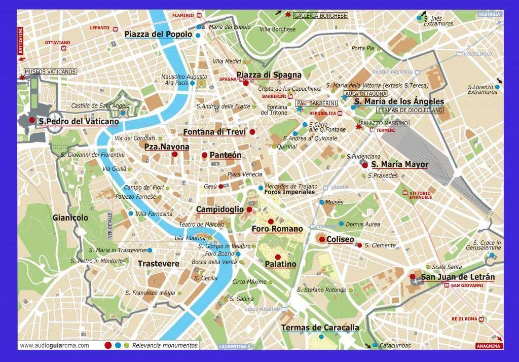 mapa-roma-monumentos