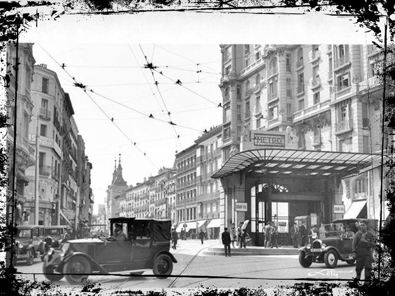 red de san luis calle montera 1930