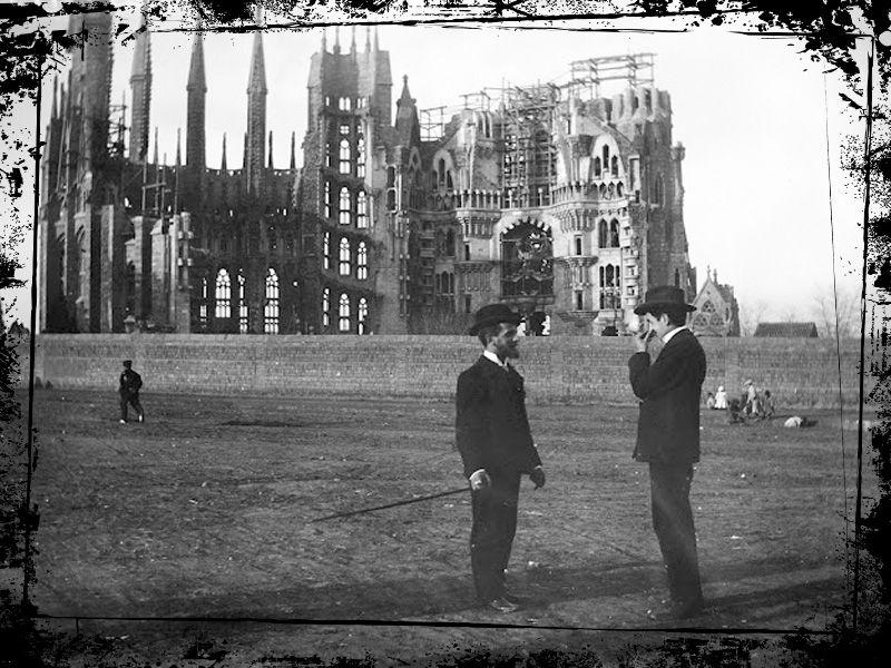 sagrada familia 1905