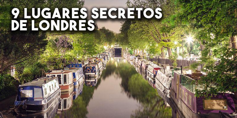 9 Lugares secretos de Londres