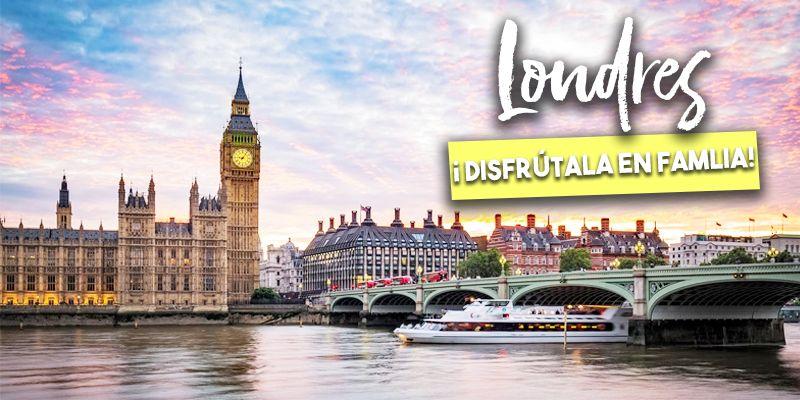 Londres: una ciudad para disfrutar en familia
